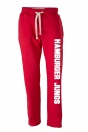 "Trendige Sweat-Hose ""Jungs"" rot"