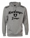 "Kapuzensweatshirt ""Tribute"" grau meliert"