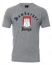 "T-Shirt ""Hamburg Classic"" grau meliert"