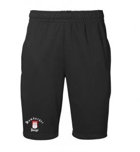 Sportliche Sweat-Shorts schwarz