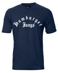 """T-Shirt """"Classic Groß"""" navy"""