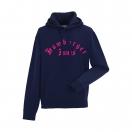 "Kapu-Sweatshirt ""Classic Pink"" Jungs, navy"