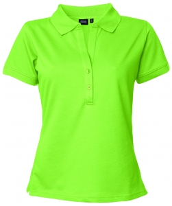 "Poloshirt ""Veddel"", Deerns lime"