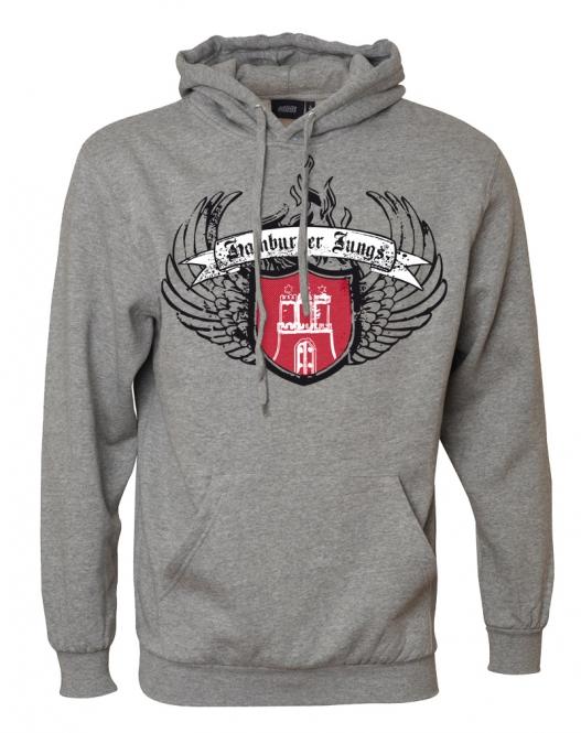 """Kapuzensweatshirt """"Wings"""""""